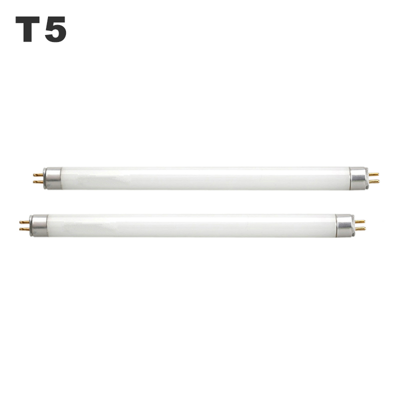 T5 Fluorescent Light Tube T5 4W 6W 8W Desk Lamp Bulb Eyecare Straight Tubular Lamp Tubes Mirror Front Lights White