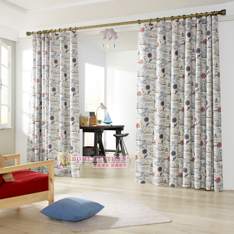 Cartoon Sailing Ship Design Shading Curtain Blackout: Online Buy Wholesale Sail Cloth Curtains From China Sail