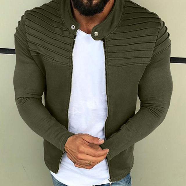 Stylish Casual Long Sleeve Jacket for Men