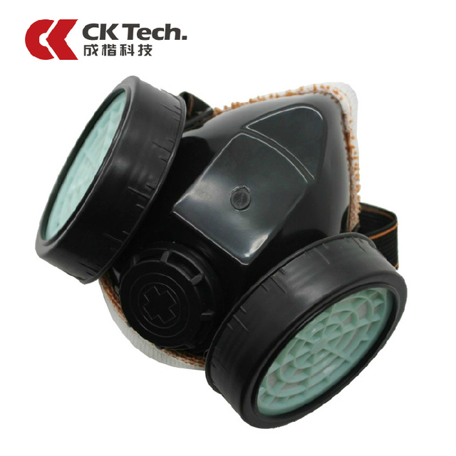 CK Brand Gas Mask Organic Vapor Cartridge Respirator Face Mask For Painting Spraying Anti-dust Formaldehyde Fire Comparable1012