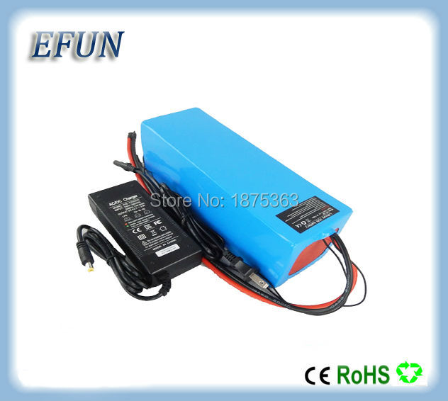 Free shipping PVC Li-ion battery pack 36V 10Ah for electric bike electric vehicle with 42V professional charger free customs taxes high quality skyy 48 volt li ion battery pack with charger and bms for 48v 15ah lithium battery pack