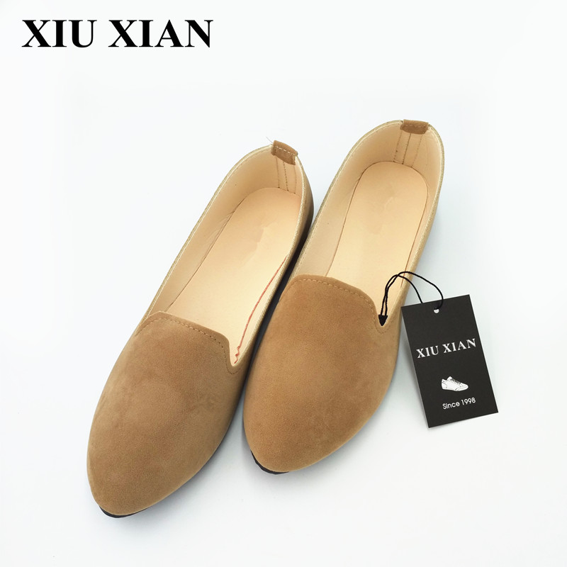 Ladies Shoes Ballet Flats Women Flat Shoes Woman Slip On Shoes Large Size 42 Casual Shose Sapato Womens Loafers Zapatos Mujer