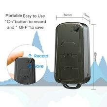 U-disk Digital Mini Audio Sound Recorder 16GB Professional Car Key Voice Record Dictaphone USB Recording Pen V8