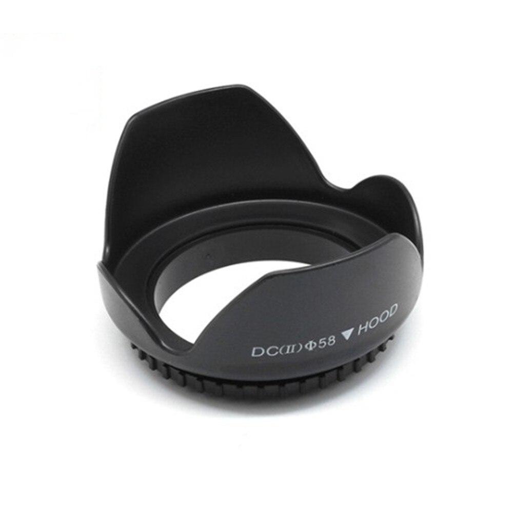 """מכונות כביסה ומייבשים BAODELI 49 52 55 58 62 67 72 77 82 מ""""מ עדשה הוד עבור Canon 77d 100D אביזרים Sony A6000 Fujifilm Nikon D3000 D3500 D5600 D5100 (3)"""