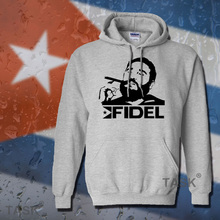 Fidel Castro President of Cuba hoodie men sweatshirt polo sweat suit hip hop streetwear tracksuit fleece 2017 casual souvenir 06