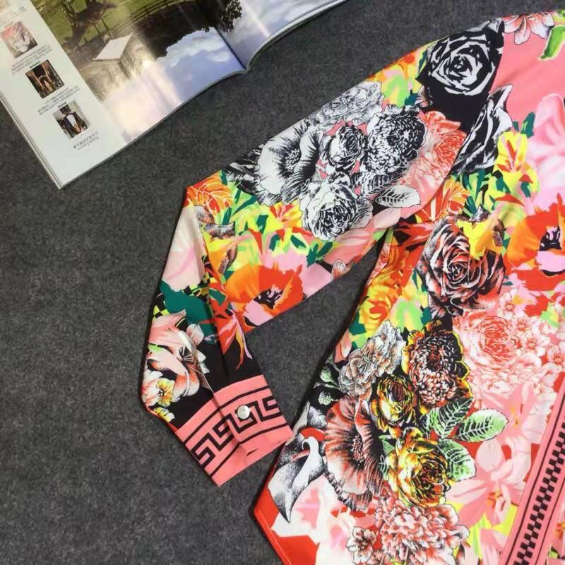 Marque Célèbre Style amp; Chemises Design De Blouses D02775 Luxe Européenne 2019 Piste Femmes Partie Mode Vêtements z8wnqOn