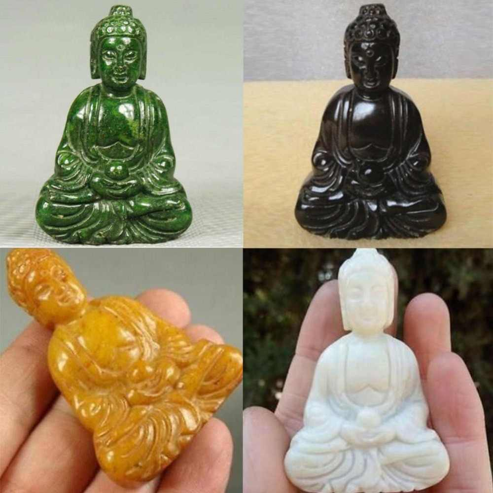 hand craved jade frog figurine green asian statue china gift boxed