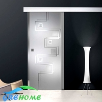 Sliding Doors Frosted Glass