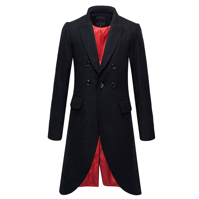 Online Get Cheap Mens Long Trench Coat Cheap -Aliexpress.com