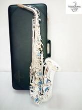 YANAGISAWA Free shipping high-quality Japanese Alto sax Yanagisawa W037 Silver plated alto musical saxophone promotion