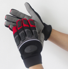Anti Vibration Motorcycle Mechanics Anti rattle Percussion Drill Ride Outdoor Mechanix Impact Proof Resistant Work Gloves