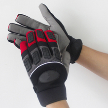 Anti Vibration Motorrad Mechanik Anti rassel Percussion Bohrer Fahrt Outdoor Mechanix Auswirkungen Proof Beständig Arbeit Handschuhe