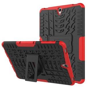 Силиконовый противоударный чехол-накладка для Samsung Galaxy Tab S3 9,7 дюйма T820 T825, чехол с подставкой для Samsung Tab S3 9,7 + стилус для пленки
