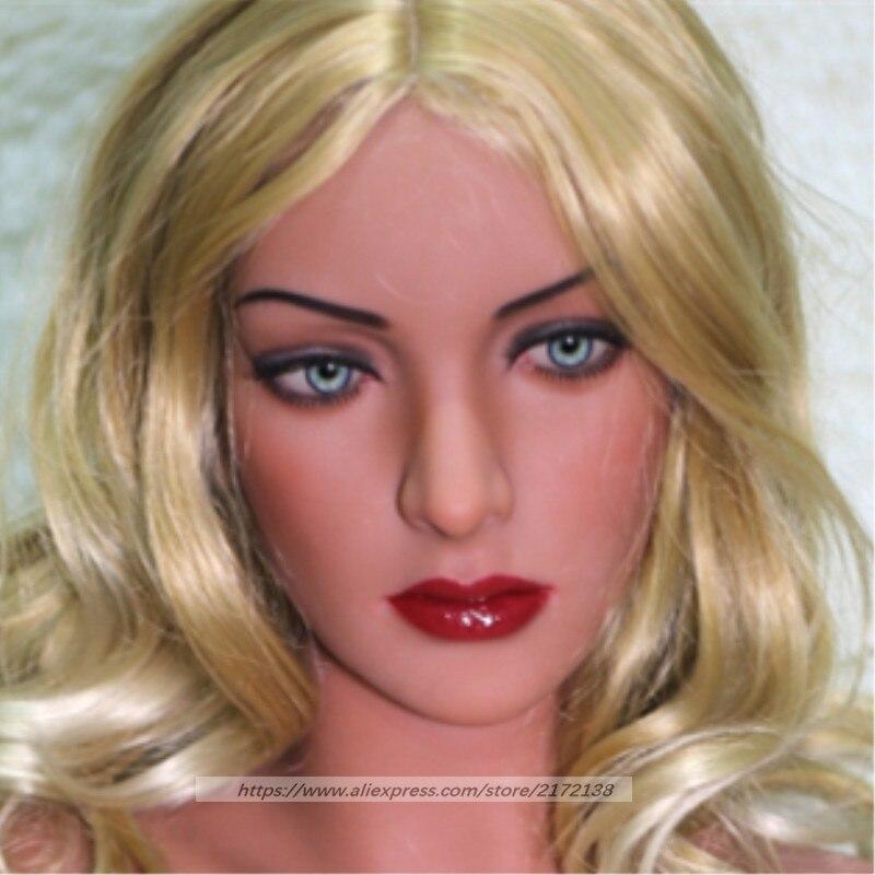 NEW WMDOLL Sex Doll Head for Full Body love doll
