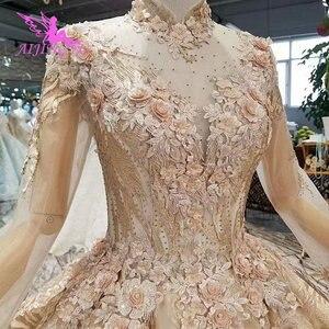 Image 4 - AIJINGYU Abito Da Sposa Costume Abiti di Nuovo Alla Moda Due In Uno Gotico Disegno della Sfera Acquistare Abito di Lusso 2021 Breve Negozio On Line cina