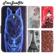 TienJueShi moda Flip kitap tasarım koruma deri kılıf kabuk cüzdan Etui kılıf Nuu a1 artı 4 inç