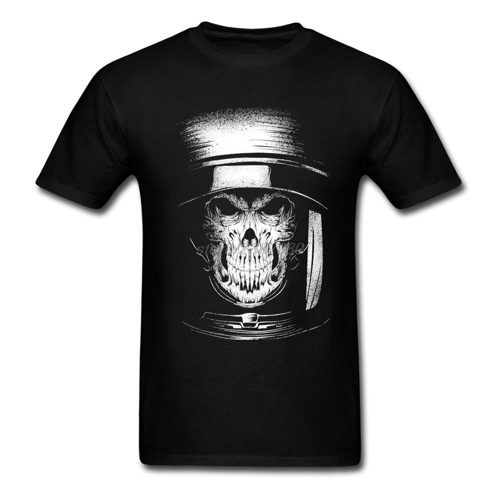Printed dead in space T-Shirt Men Crew Neck Tshirt Design Great Discount Short Sleeve Men T Shirt image