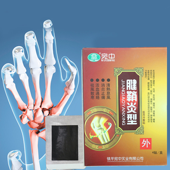 Synovial Stickers Medical Pain Relief For Synovitis Hyperosteogeny/Shoulder Rheumatism Joint Knee Cooling Plaster image