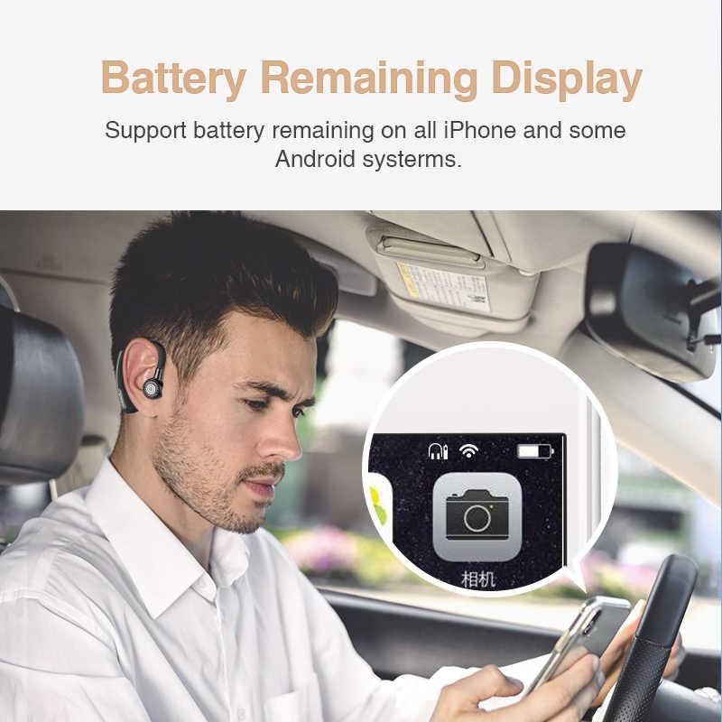 SANLEPUS casque d'écouteurs Bluetooth sans fil, casque mains libres, oreillettes avec Microphone HD pour téléphone, Samsung xiaomi