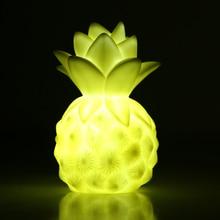 Mini LED Light Up Toy Pineapple Table Lamp Light Romantic Night Lamp LED Sleep Light Toy