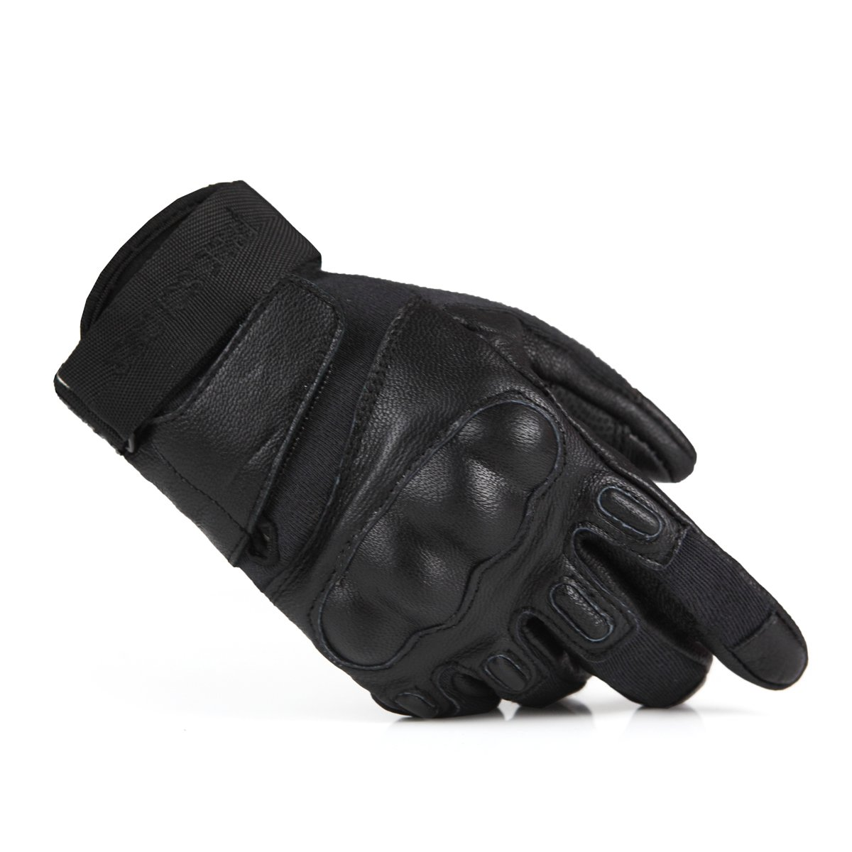 Leather work gloves china - Leather Armor Gloves Sheepskin Kevlar Scratch Resistant Fire Retardant Training Gloves China