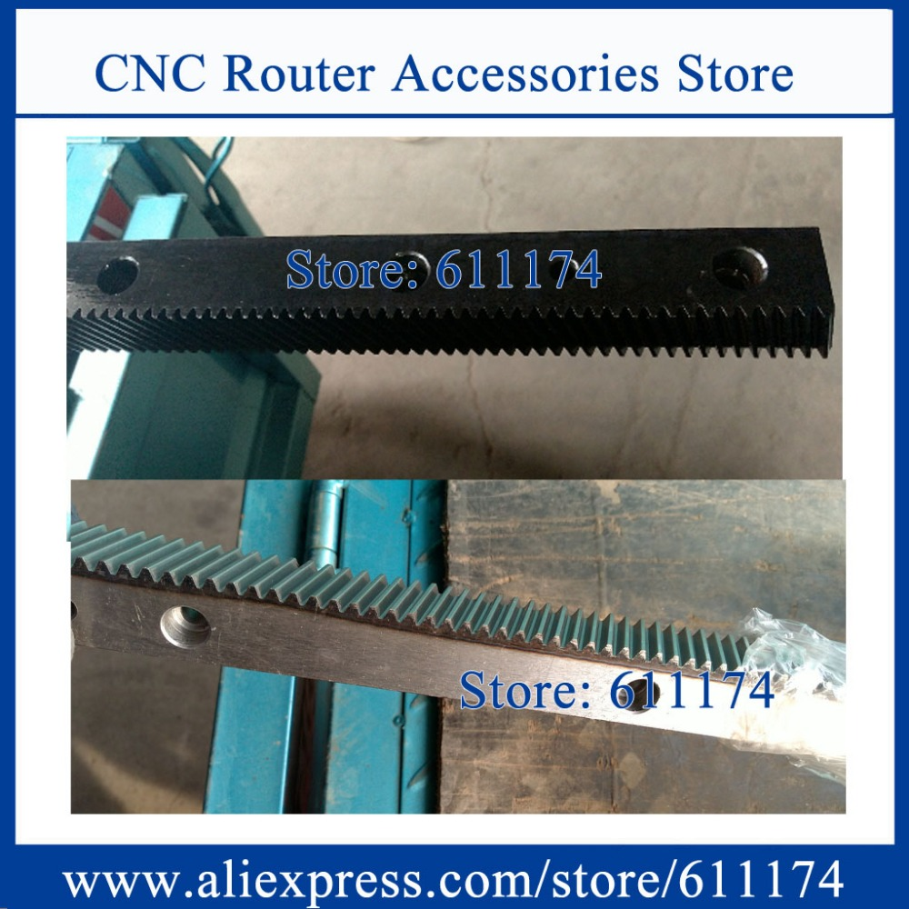 High precision Helical gear and rack , module 1.25 size 22*25*1000mm left handle helical rack and right handle helical rack gear