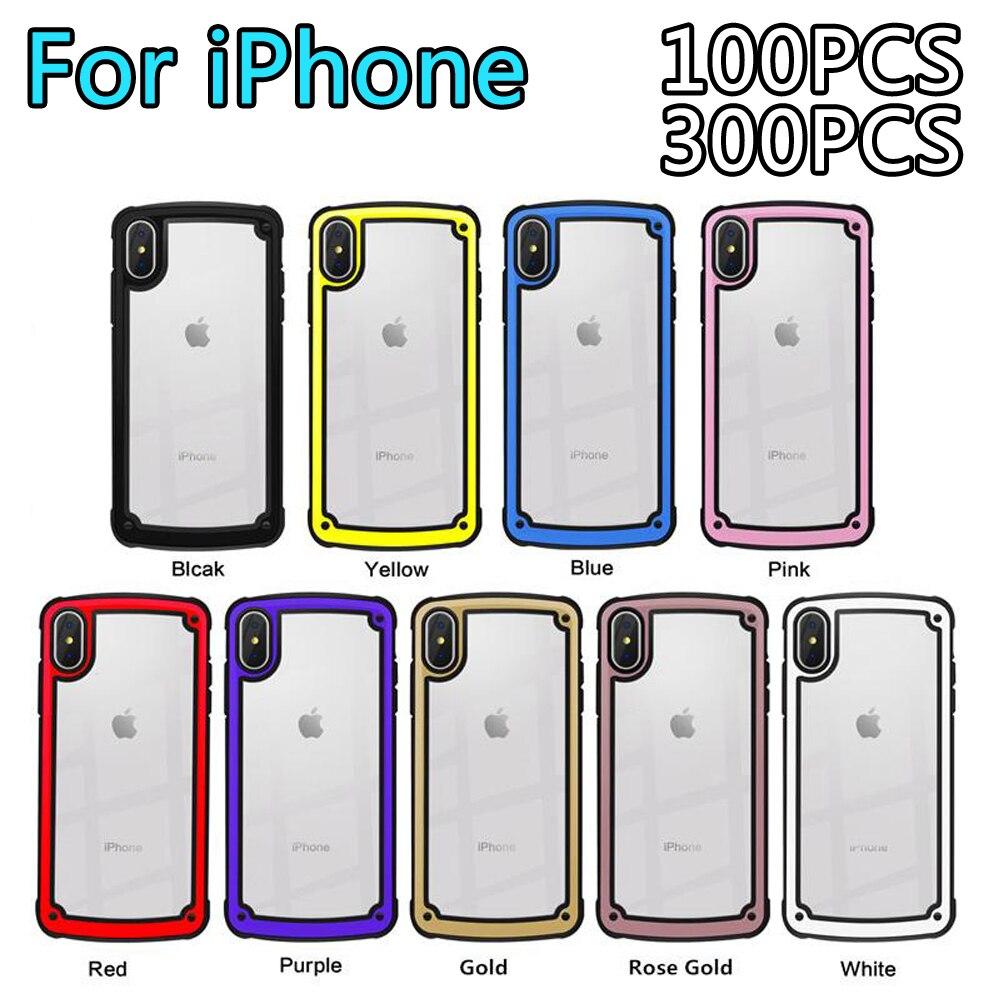 100 pièces Mode Mignon TPU téléphone étui pour iphone 7 8 X XR XS Max Pour Samsung S10 Plus Lite pour Huawei P30 P30 Pro Couverture Arrière