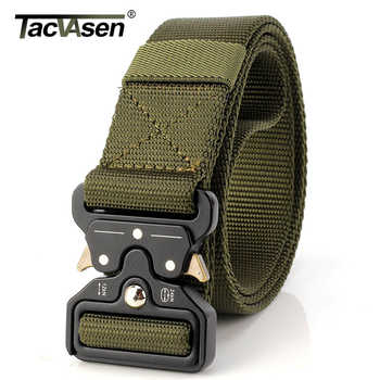 TACVASEN Men Brand Military Belt Quick Dry US Soldier Tactical Belt Combat Paintball Army Belt 3.8cm Nylon Waistband TD-BLL-012 - DISCOUNT ITEM  35% OFF Apparel Accessories