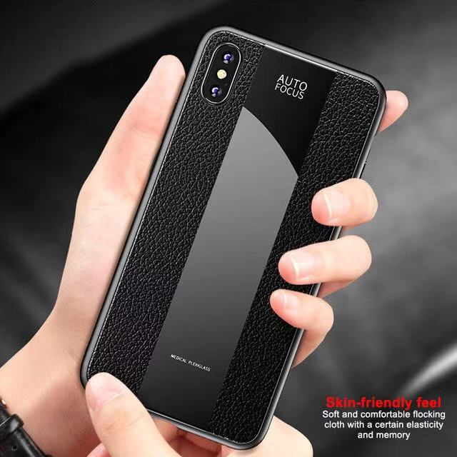 Deluxe Vintage PU Leather Case with Strap For iPhone X XR XS Max Ultra Thin Silicone Shockproof Case For IPhone MAX XR XS Case