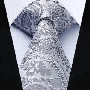 Image 3 - Mens Classic Paisley Jacquard Waistcoat Vest Handkerchief Party wedding Tie vest Suit  Pocket Square Set