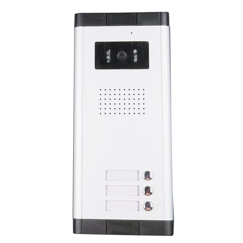 FREE SHIPPING Waterproof Doorbell Camera with 3 CALL buttons For 3 House Family In Stock Wholesale цены