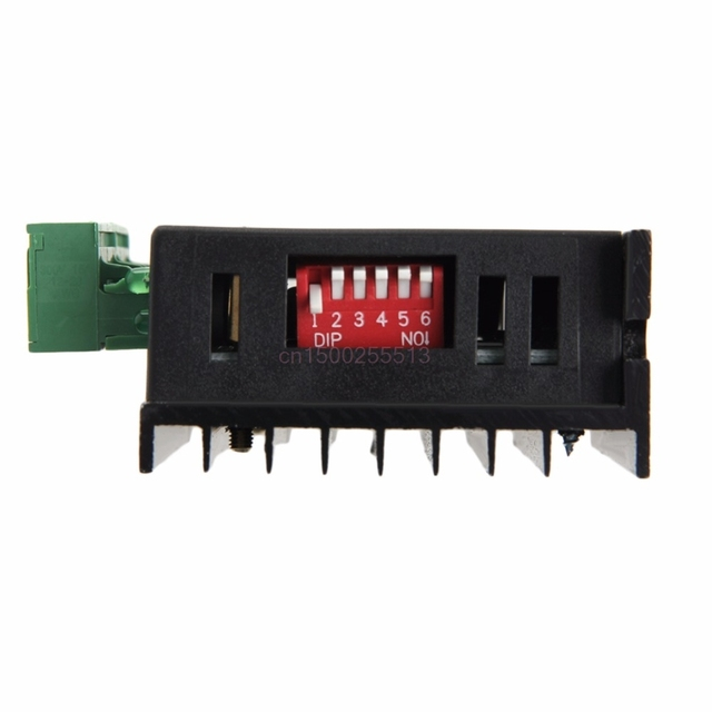 TB6600 Single Axis 4A Stepper Motor Driver Controller 9~40V Micro-Step CNC