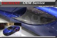 Автомобиль Стайлинг авто аксессуары сухой углеродного волокна сбоку воздухозаборника подходит для 2011 2014 MP4 12 C 650S Conversion сбоку фланец воздух