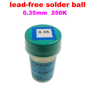 цены 1PCS PMTC 250K 0.35mm lead free lead-free solder ball for bga reballing solder balls