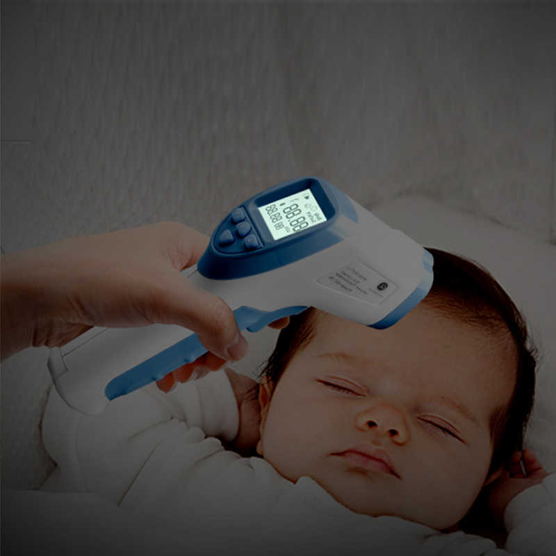 GL Baby Forehead Thermometer Forehead Non-contact Infrared Thermometer LCD Back light Digital Thermometer Adult Baby Body