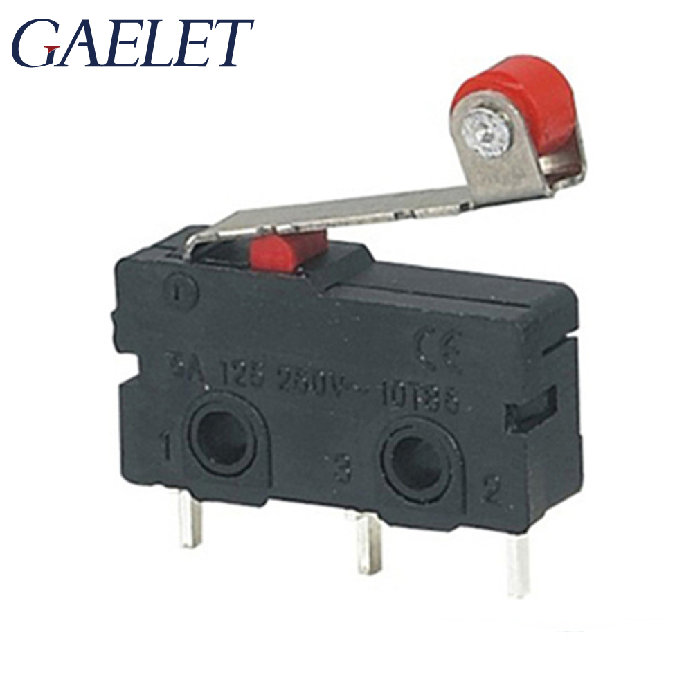 1/2/3 Pcs 0.5A~1A KW11-N Micro Roller Lever Arm Normally Open Close Limit Switch ZK30