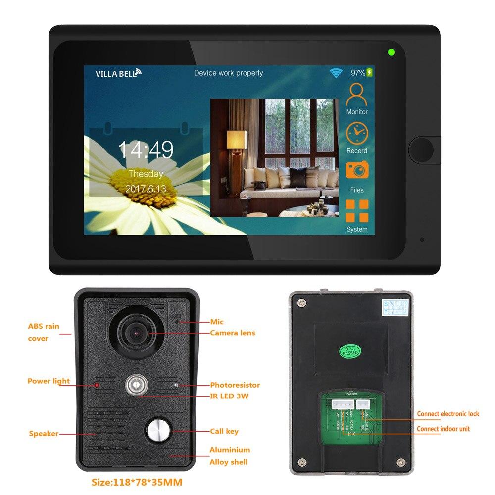 Aliexpress Buy Yobangsecurity 7 Inch Monitor Wifi Wireless