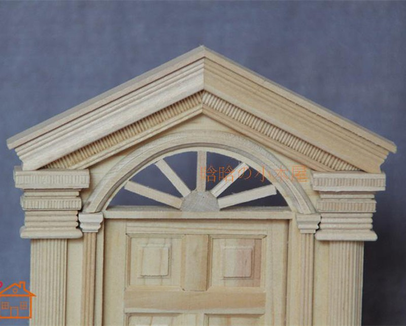 6pane door doll house 2