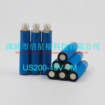 Free shipping   Ultrasonic distance measurement kit US200-18V-1M digital analog signal, NPN, output ultrasonic sensor