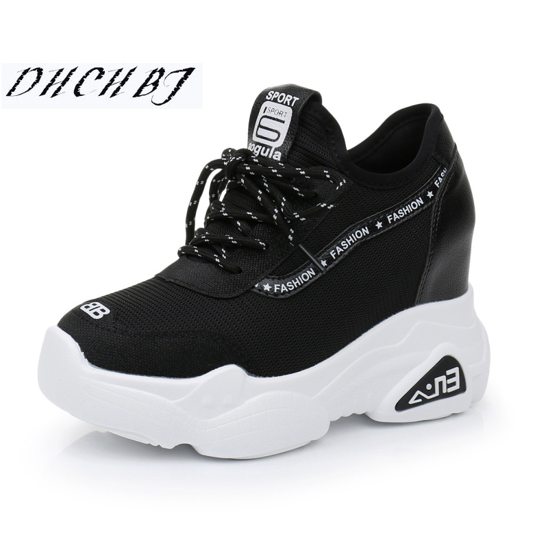 Women Sneakers Platform Size Shoes Casual Thick Wedge Walking Running Ladies