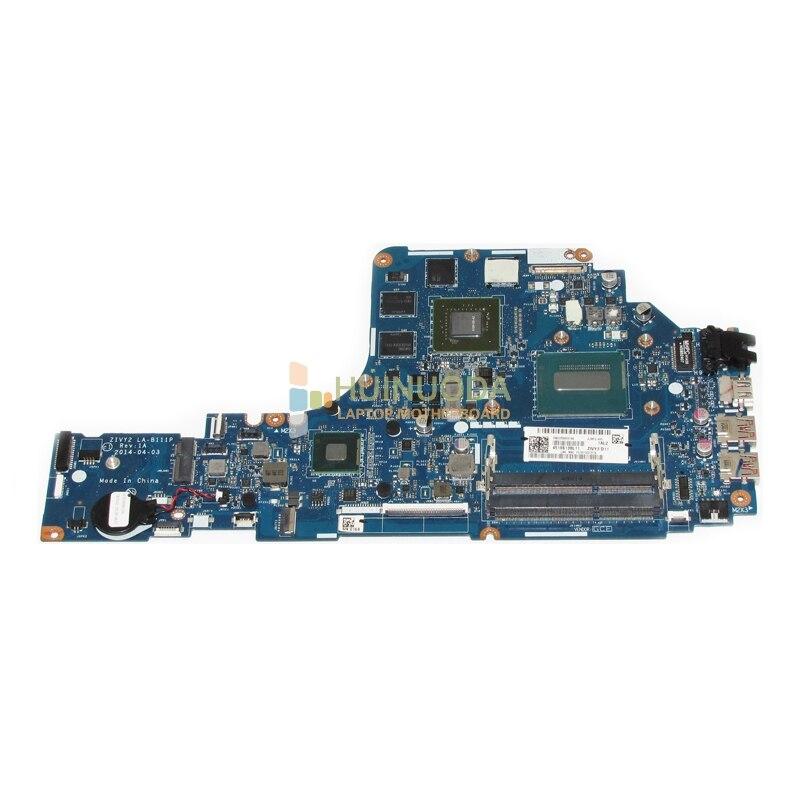 все цены на NOKOTION ZIYY2 LA-B111P Main Board For Lenovo Ideapad Y50 Y50-70 Notebook PC Motherboard I5-4200H DDR3L GTX860M 2GB онлайн