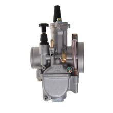 QILEJVS Top Quality Universal Motorcycle 30mm Carburetor For Keihin Carb PWK Mikuni With Power Jet NEW G6KC