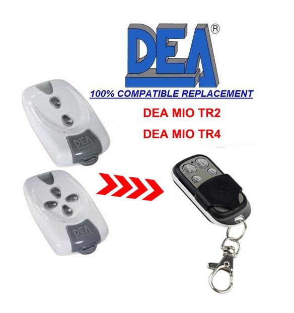 где купить 50pcs DEA MIO TR2, TR4 Rolling Code replacement garage door Remote Control 433.92MHz top quality DHL free shipping по лучшей цене