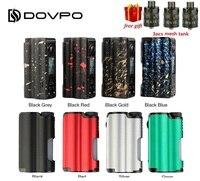Free mesh tank DOVPO Topside 90W Top Fill TC Squonk MOD w/ 10ml Large Squonk Bottle & 0.96 Inch OLED Screen VS DRAG Box Mod Ecig