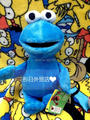 Sesame Street Plush Toys Cookie Monster 30cm Original Toys PP Cotton