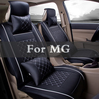 Set Fit 5 Color Pu Leather Car Seat Covers Interior Accessories Car Seat Protector For Mg 3 350 5 550 6 Gs Tf Xpower Sv Zr Zs Zt