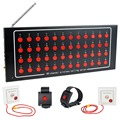 48 Channel Wireless Calling System Emergency Paging System for Hospital Nurse Patient F4459A