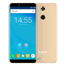 OUKITEL C8 4G Smartphone Android 7.0 5.5 Inch MTK6737 Quad Core 1.3GHz 2GB RAM 16GB ROM Touch Sensor 8.0MP Rear Camera Cellphone
