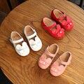 Мода весна новый натуральная кожа детская обувь мокасины дышащий Мультфильм милые девушки принцесса обувь Супер мягкие и удобные