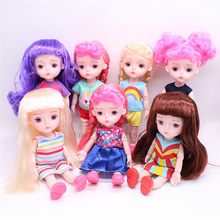 1/12 BJD Dolls 13 Joint DIY Dress Up Lovely Princess Dolls Toys Handmade Original Girls Dolls Toys For Children Birthday Gifts(China)